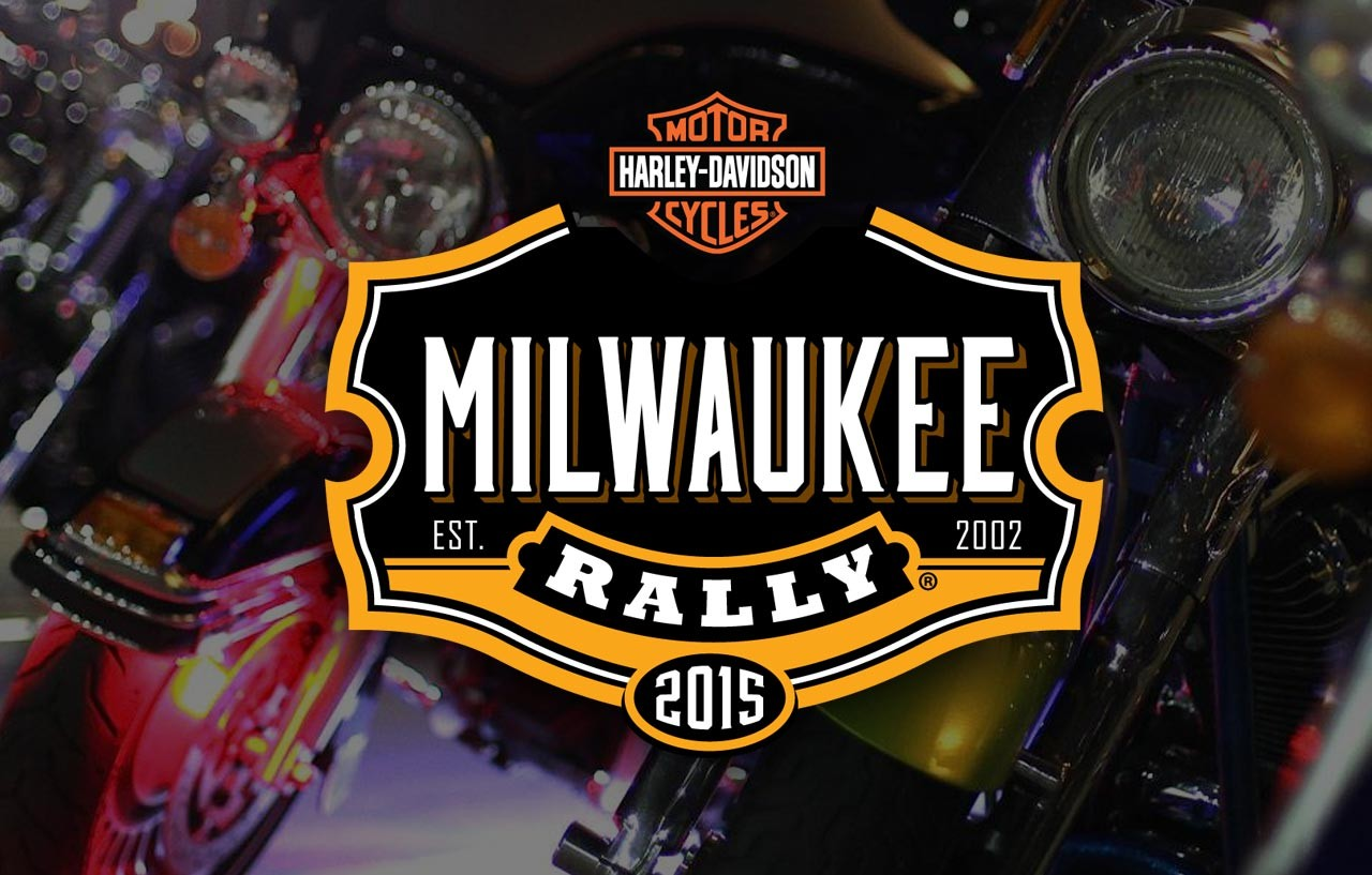 screenshot of Milwaukee Rally website